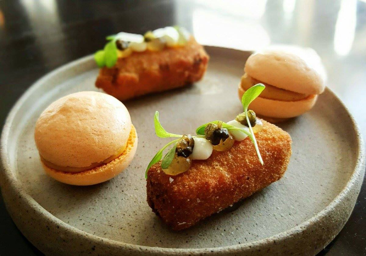 Restaurants in Newcastle, with an image of desserts from House of Tides