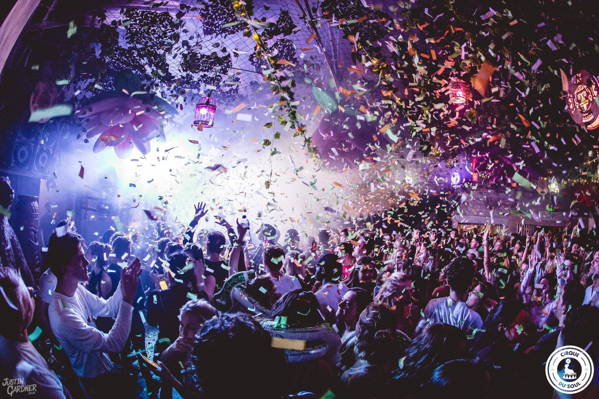 Guide to Newcastle, featuring an image of people on the dance floor at Digital with confetti falling down on them