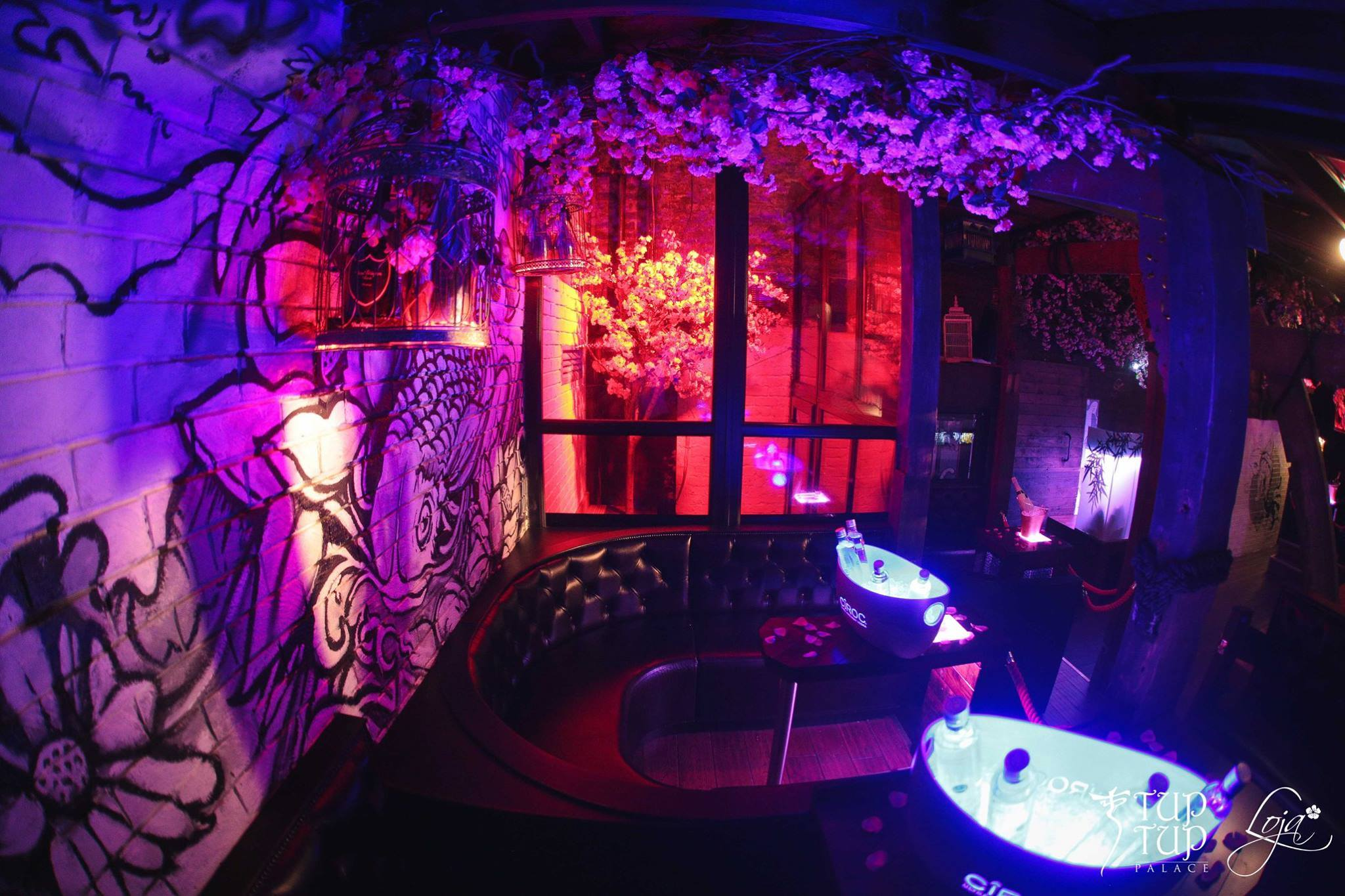 Tup Tup Palace's secret bar, Loja, interiors