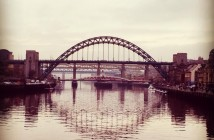 Newcastle, Tyne Bridge,Quayside
