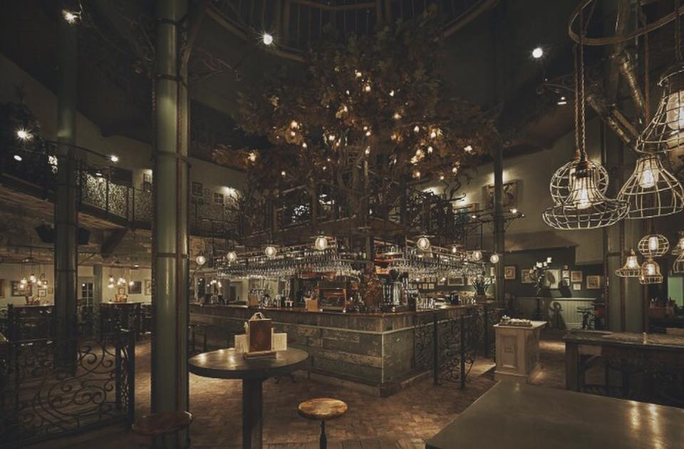Newcastle's finest cocktail bars, featuring an image of the interior of The Botanist, Newcastle