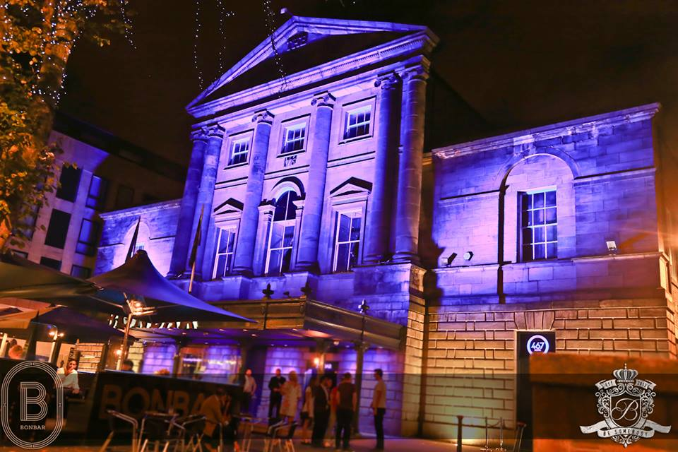 The exterior of Bon Bar in Newcastle, where many celebrities have had nights out in Newcastle